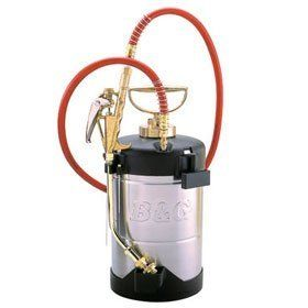 B Sprayer 1 gallon and 9 inch wand BG2032 by B $250.00. 1 gallon with a 9 inch wand   This rugged, good looking 1 or 2 gallon insect sprayer is the same sprayer our technicians use in the field every day. With a little care this insect spray can last 30 or 40 years. Every part of this sprayer can be replaced. All b parts fit this sprayer and can be ordered directly from b   This model comes with a 9 inch extention wand or you can choose a different size and make ...