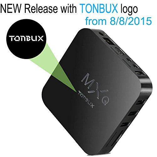 Tonbux ® Quad Core MXQ Smart TV BOX Mini PC Streaming Media Player with KODI(XBMC) Streamer 1GB/8GB, Fully Loaded,Google Android 4.4 KitKat,CPU Amlogic S805, 1.5 GHz - http://Media-Streaming-Devices.co.uk/product/tonbux-quad-core-mxq-smart-tv-box-mini-pc-streaming-media-player-with-kodixbmc-streamer-1gb8gb-fully-loadedgoogle-android-4-4-kitkatcpu-amlogic-s805-1-5-ghz/