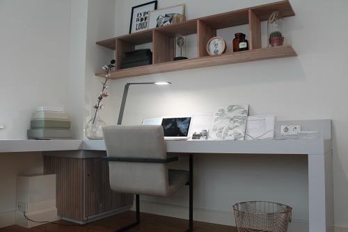 Een stijlvolle mannenwerkkamer - Eigen Huis en Tuin