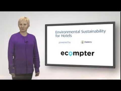 Environmental Sustainability for Hotels: Basic course.  #Environment #Sustainability #Hotels