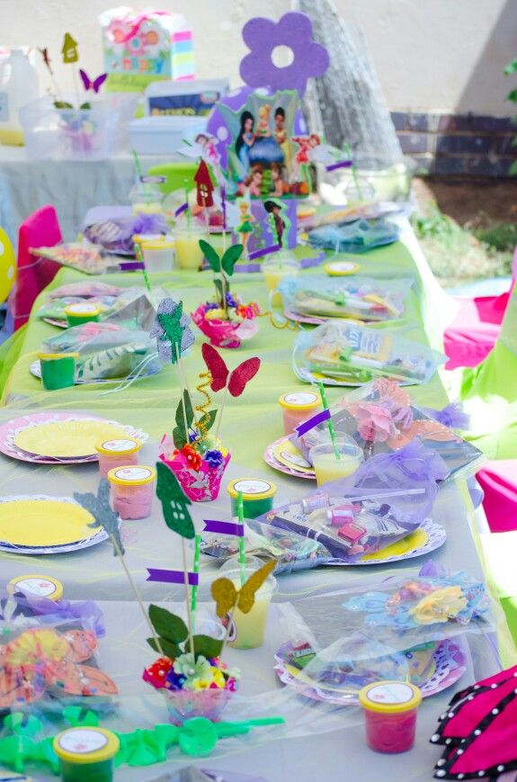 Kids fairy table