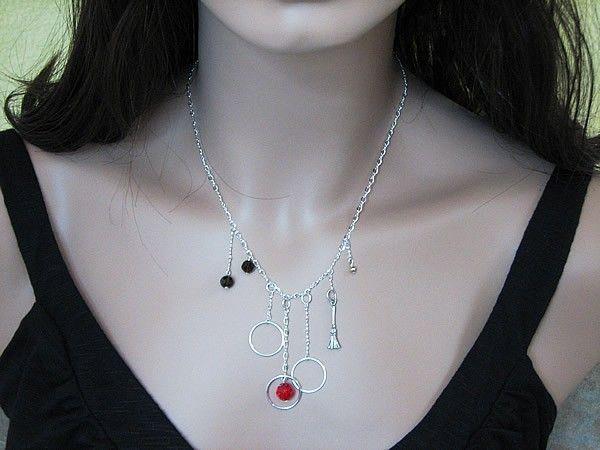 Harry Potter Quidditch Swarovski Crystal Sterling Silver Necklace. $80.00
