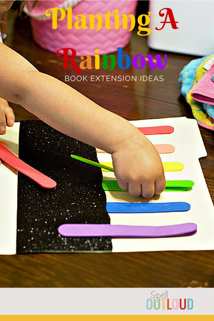 Planting a Rainbow by Lois Ehlert is a great book to read to toddlers and preschoolers. Here are some more activities to do after reading the book. There is a rainbow file folder game, rainbow craft plus link to a free printable seed journal.