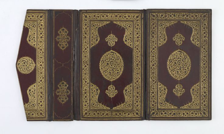 Bookbinding | 16th-17th century, Ottoman period | Red leather on pasteboard; H: 33.9 W: 20.5 cm; Turkey