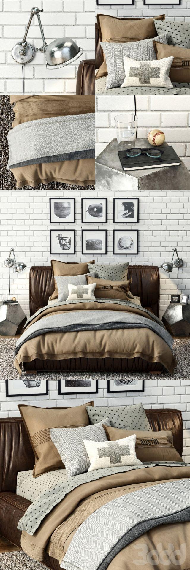 3ds max 2010 v ray 2 40 03 file formats fbx obj dog beds - Rh Sona Upholstered Platform Bed