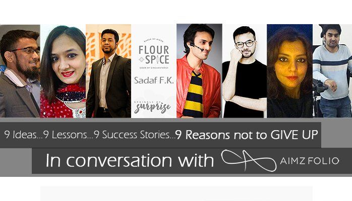 9 Ideas, 9 Lessons, 9 Success Stories, 9 Reasons Not to GIVE UP!