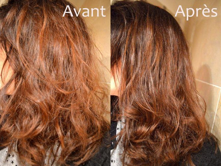 Le masque pour les cheveux simple de la chute des cheveux