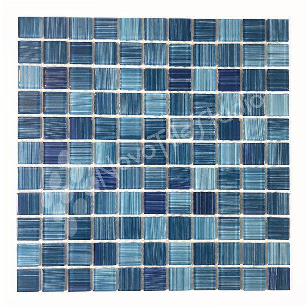Alezio 12 X 12 Glass Mosaic Tile Mosaic Glass Glass Mosaic Tiles Mosaic Tiles