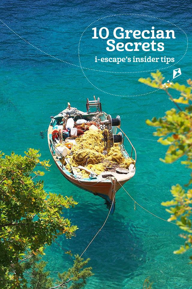 10 Grecian Secrets @iescape i-escape.com #Greece