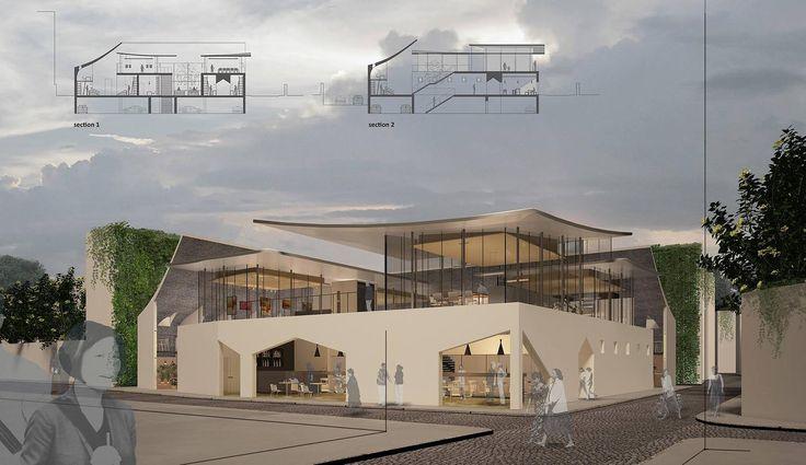 loopo studio | creative team of architects | Istanbul Community Market