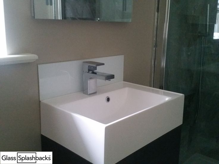 Splashback For Bathroom Sink. The Perfect Solution Behind Sinks Glass Splashbacks Are Inexpensive And Easy To Fit Essentially
