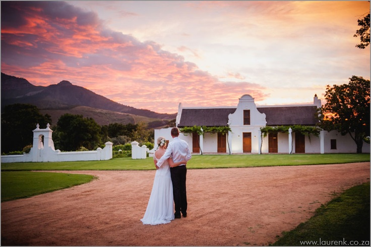 Another stunning wedding location in Stellenbosch, Cape Town