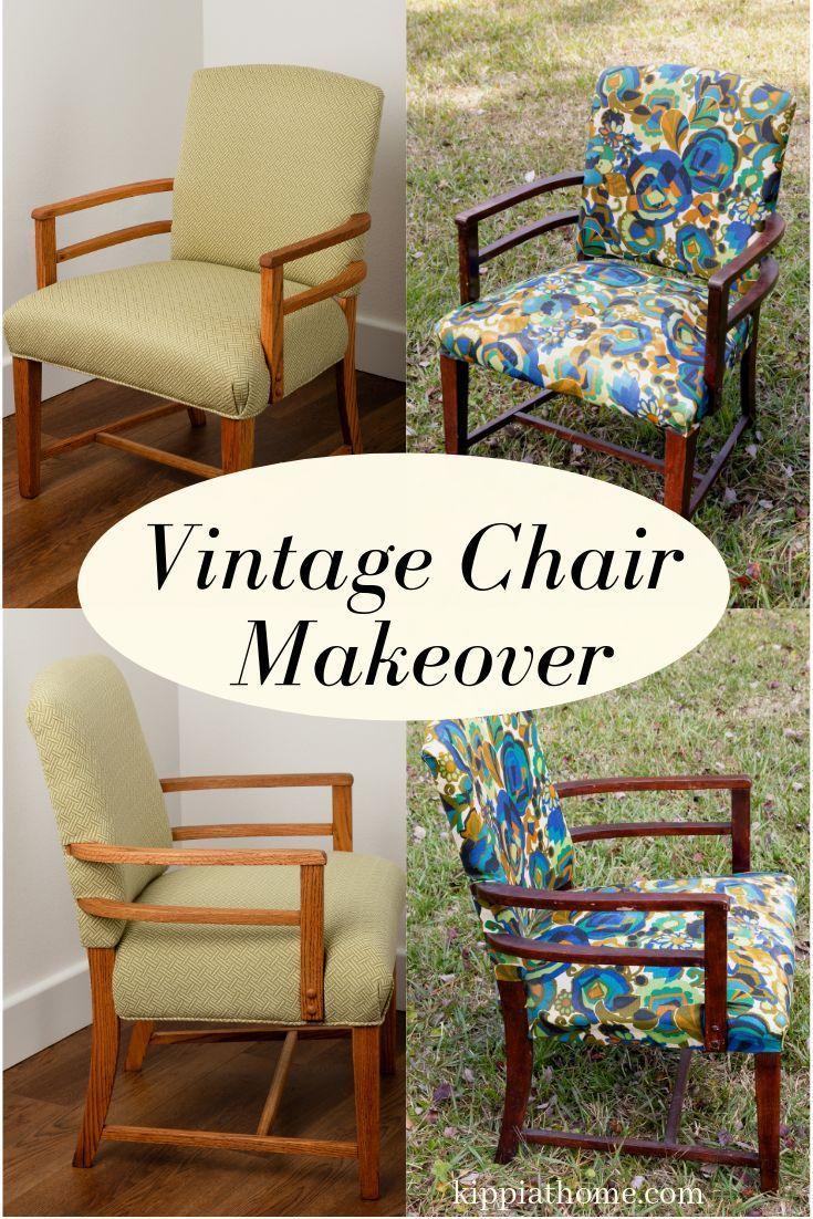 Etonnant Vintage Chair Restoration, Upholstery, Art Deco Style, Greenbelt Maryland    Repurposed Items   Vintage Chairs, Art Deco Chair, Chair Makeover
