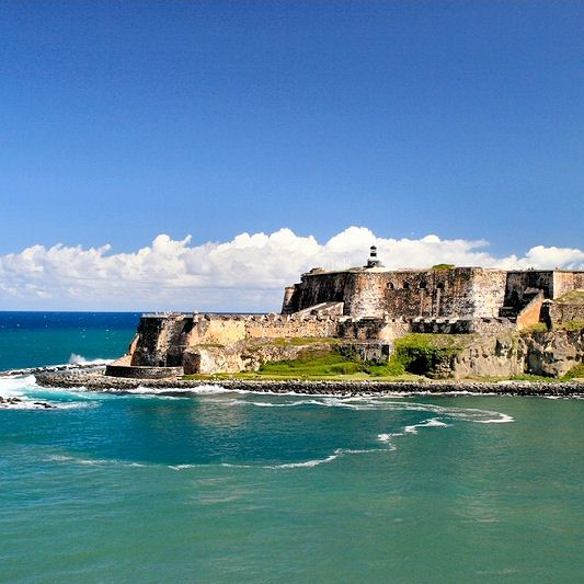 San Juan...Thank you Mr. Jose Cuervo for sharing your factory, majestical forts, ruins and beaches with us. Wow!