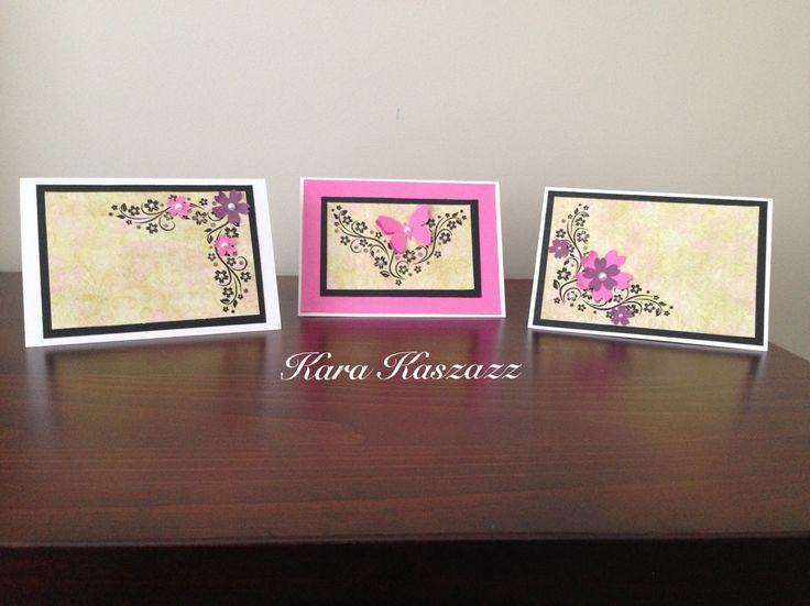 Kaszazz Sakura Corner Cards inspired by Tanya Henke www.facebook.com/kara.kaszazz
