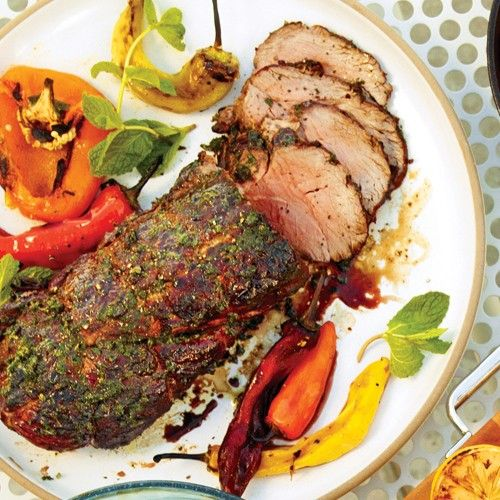 It's important to set up direct and indirect heat zones when grilling this beef tenderloin. You want to sear the outside so that it has a nice crust without overcooking the meat. See our tips on setting up a charcoal grill.
