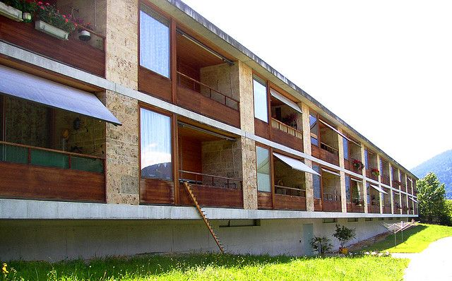 Peter Zumthor, Residential home for the elderly, Masans, 1989-1993