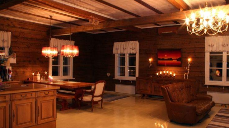 Villa Lande accommodation in Rovaniemi, Lapland, Finland