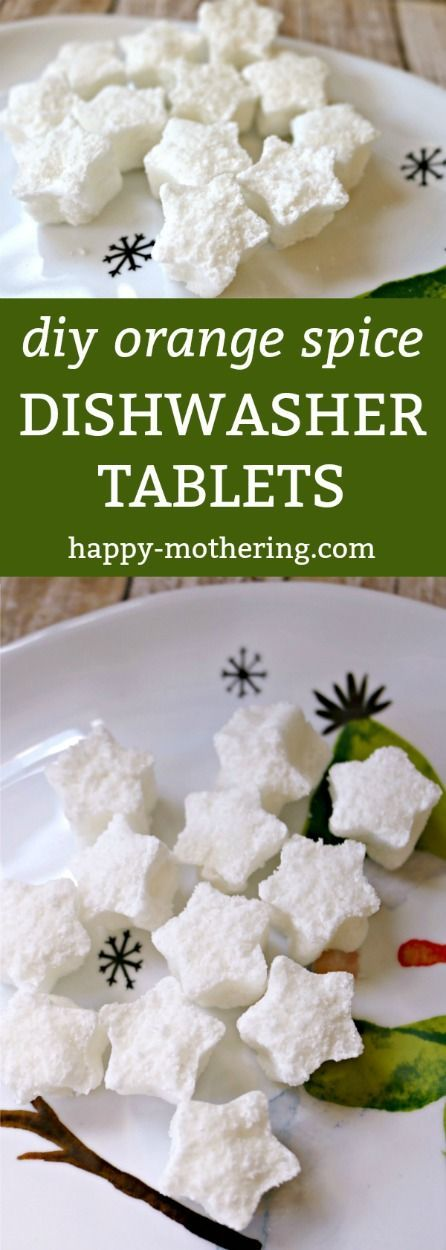 how to make your own dishwashing tablets