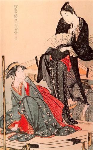 Diversiones estilo de las Cuatro Estaciones - Kitagawa Utamaro