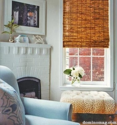 Window Treatment Woven Wood Shades