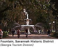 The Savannah Historic District is a large urban U.S. historic district that roughly corresponds to the city limits of Savannah, Georgia, prior to the American Civil War. Wikipedia