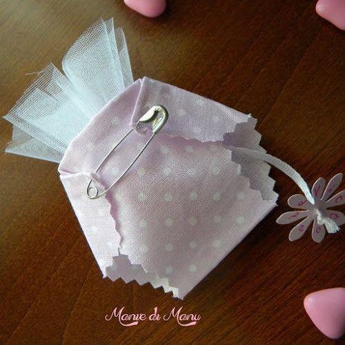 Pannolino porta confetti - myCandyCountry, idee creative, riciclo creativo, lavori creativi, creatività, fai da te, ricette