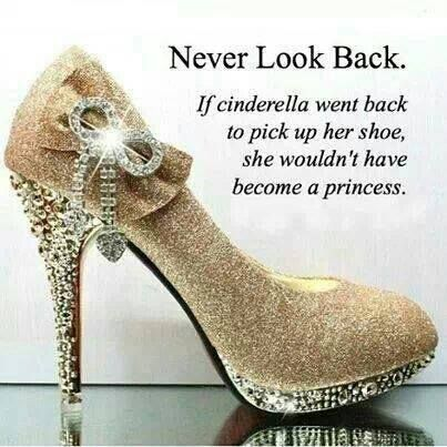 Never Look Back!