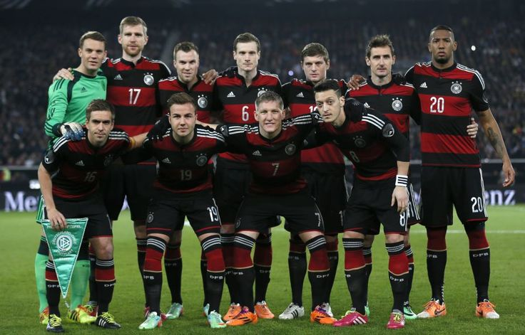 Germany Football Team of World Cup 2014 in Brazil.