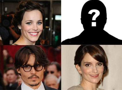 Is this like a #BCG Matrix? Rachel McAdams (Star), Silhouette (Question), Johnny Depp (Cash Cow), Tina Fey (dog) - Though I think Depp and Fey should switch.