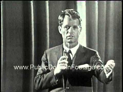 Robert F. Kennedy speech at Columbia University 1964  - RFK speaking  How many of us can listen to our politicians and admire them?