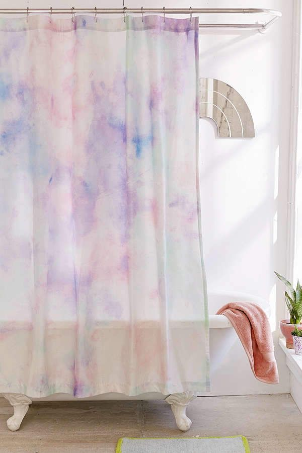 The Prettiest Shower Curtain Light And Lovely Love The Soft