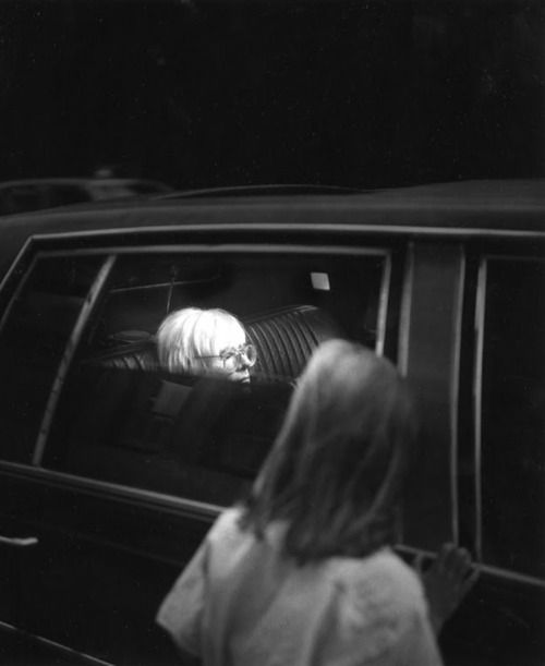glimpse of andy, 1987 • peter bellamy