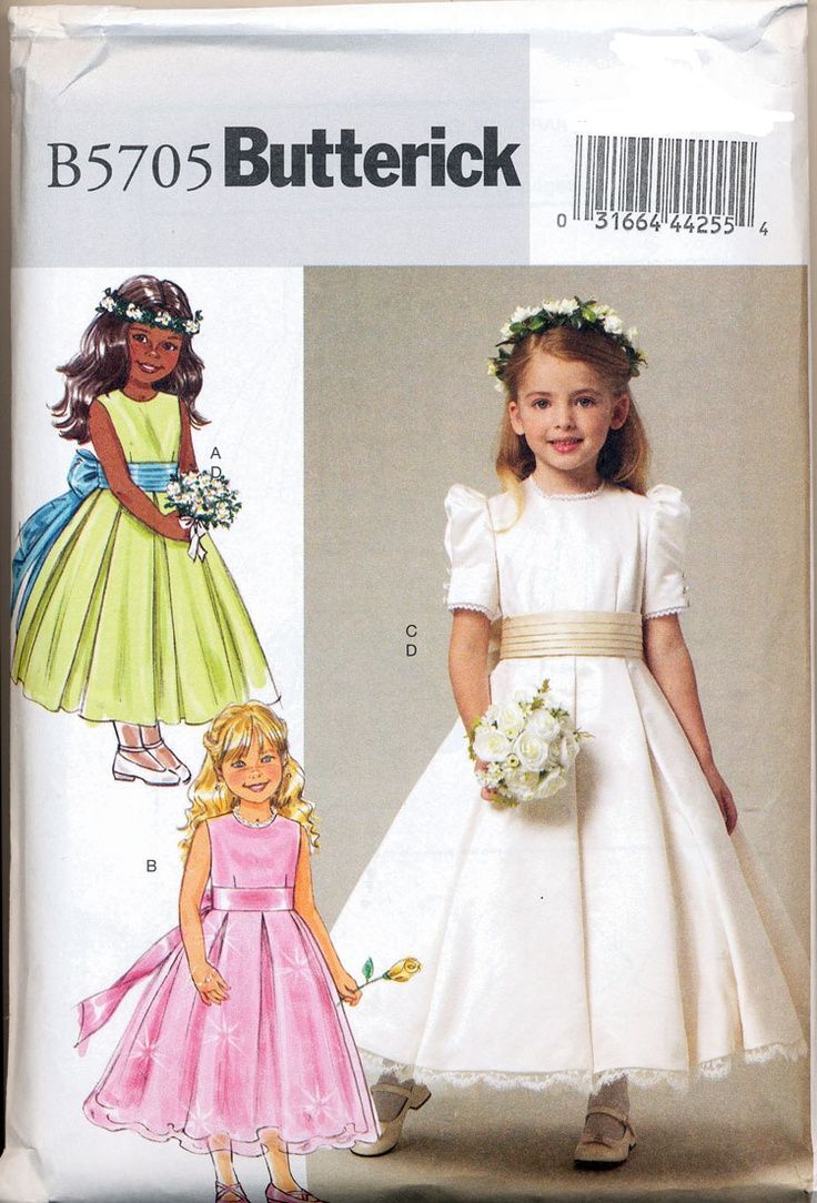 21 best patterns images on pinterest dress sewing patterns kate middletons flower girls dress pattern childrensgirls dress and cummerbund jeuxipadfo Choice Image