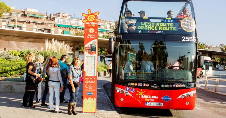 Discover Barcelona at your own pace on a double-decker hop-on hop-off bus tour! Choose from 1 or 2 days and access 2 routes with stops at the best sites in Barcelona! Plus, enjoy audio commentary in 12 different languages as you travel through the city.