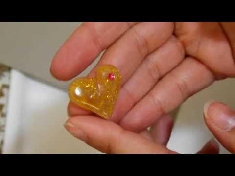 Come creare un ciondolo con colla a caldo. Facilissimo! - YouTube
