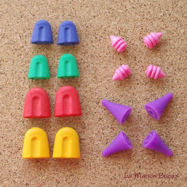 Capuchones protectores / Point protectors / Bouchon pour aiguille http://lamaisonbisoux.bigcartel.com/product/clover-capuchones-protectores-point-protectors-bouchon-pour-aiguille
