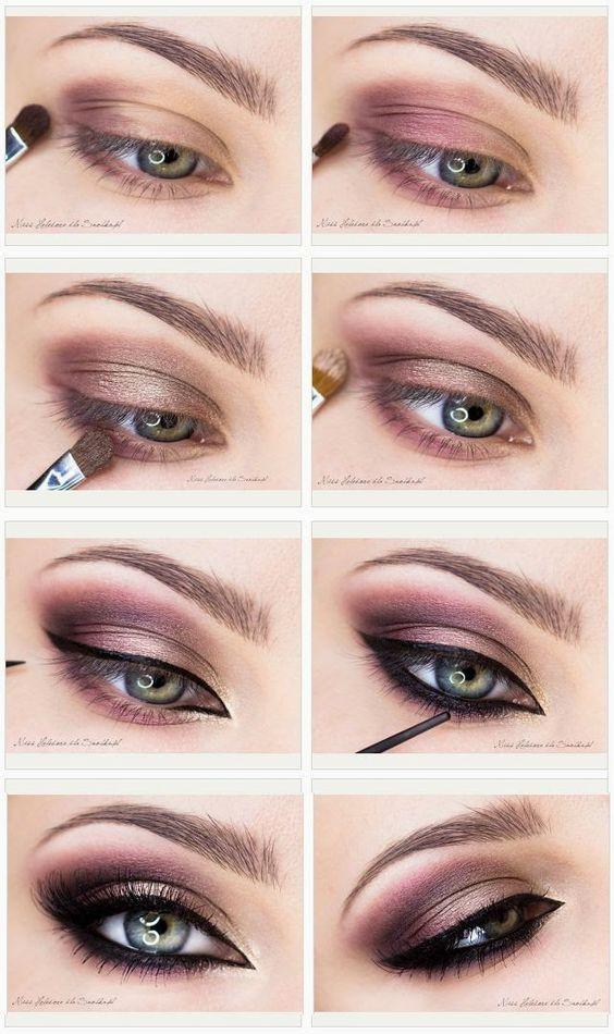 20 Purple Smokey Eye Makeup Tutorial
