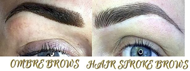 Ombre Versus Hair Stroke Brows Which Is Best Permanent