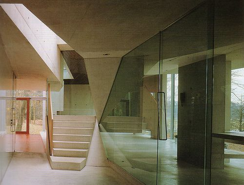 Mobius House interior