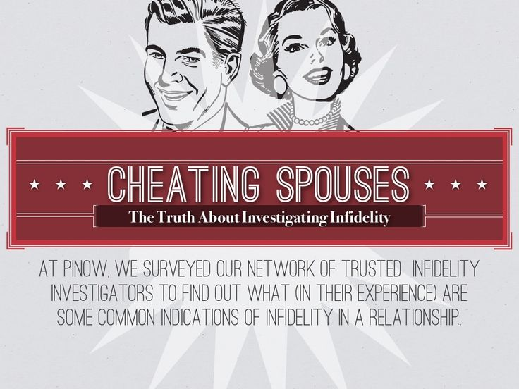Signs of a Cheating Spouse by Lawgical via slideshare