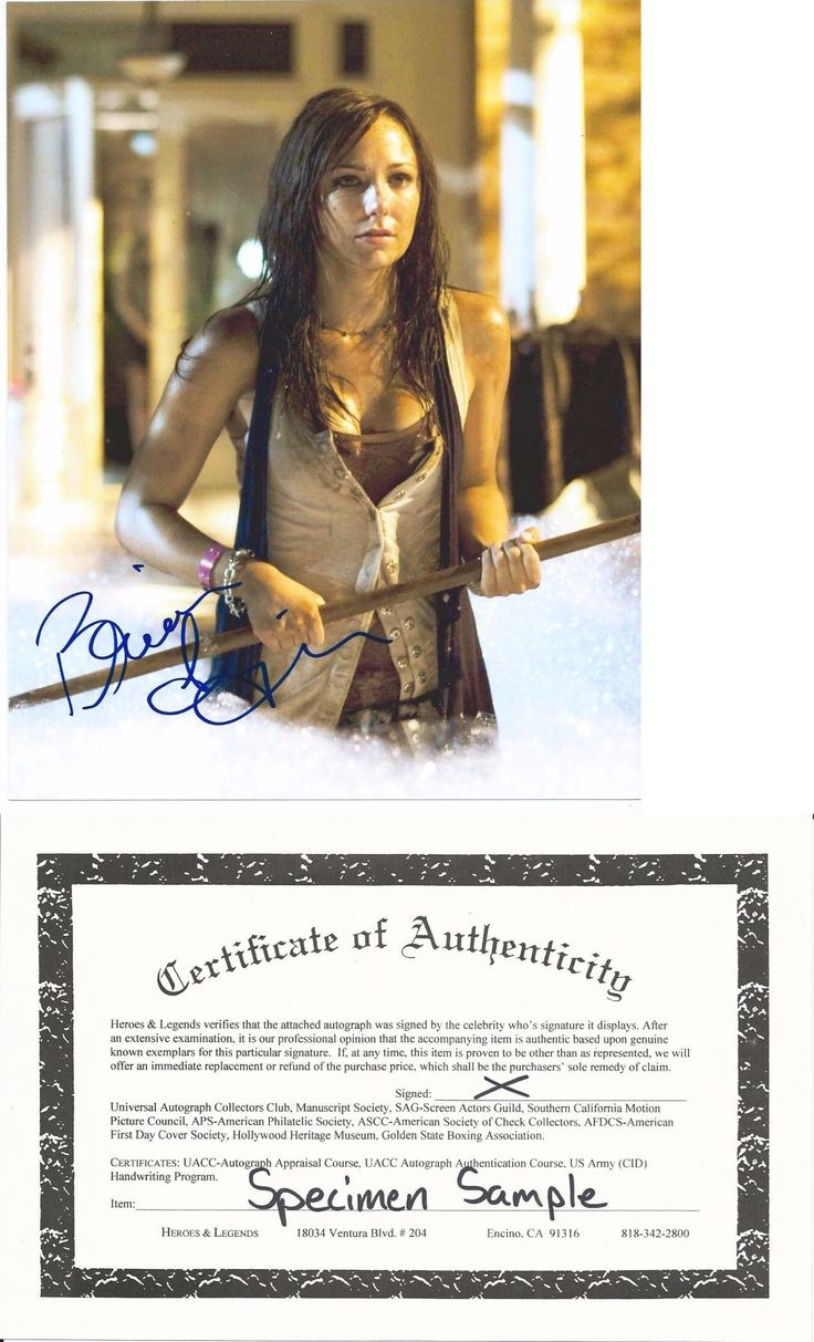 Buy Celebrity Autographs With Coa