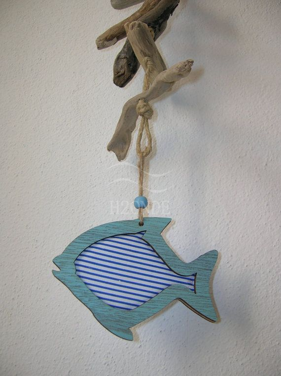 Fish garland for yur home by H2ONDE on Etsy