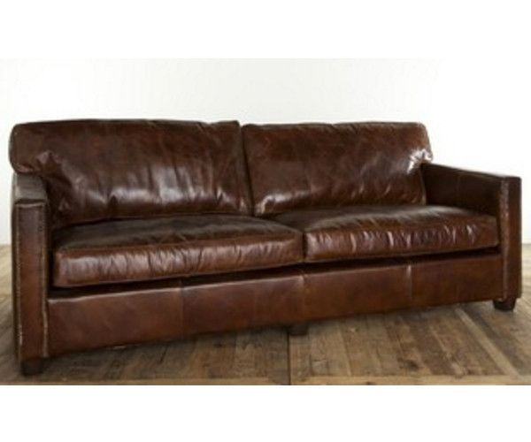 MADISON 3 Seat Leather Sofa U2013 Stacks Furniture Store