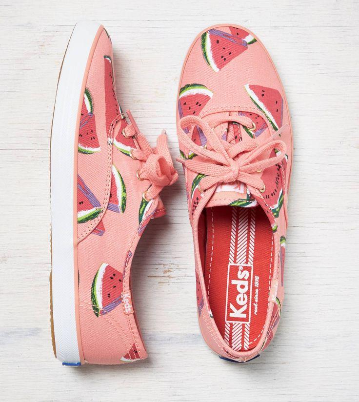 Wild Watermelon Keds Champion Fruit Sneaker