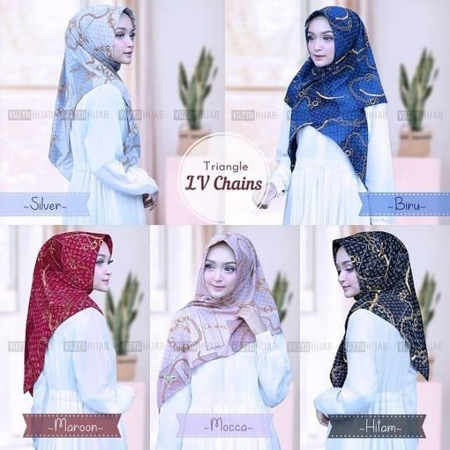 Tutorial Hijab Segi Tiga Simple Dan Modis Untuk Remaja Remaja Hijab Wajah