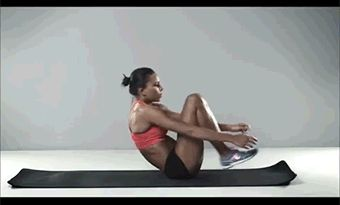 "jacktrack: "" fitnessgifs4u: "" 2 Minute Abs Workout…VIDEO "" Secret is now public get up and go "" los mejores ejercicios para la buena vista"