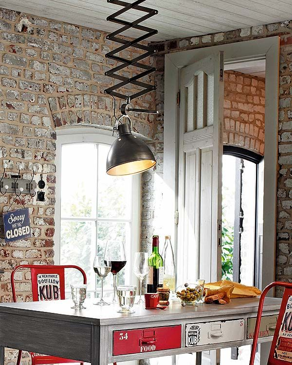 30 Cool Industrial Design Kitchens #Gourmetillo loves...!!