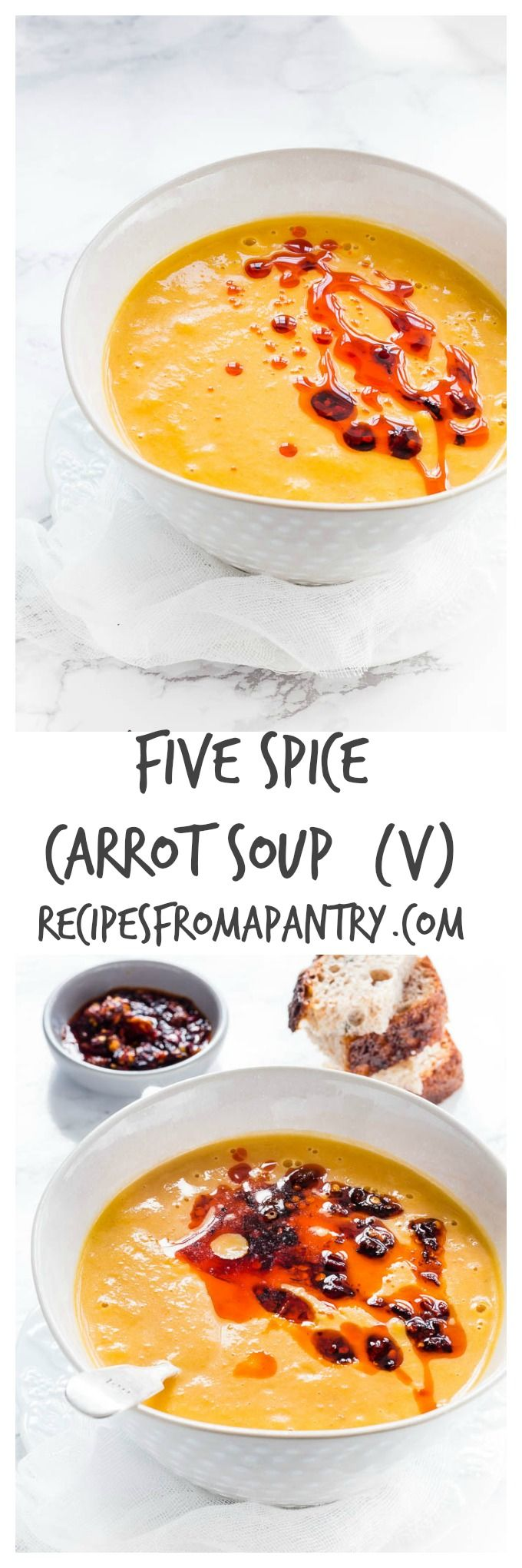 five-spice-carrot-soup | Recipes From A Pantry