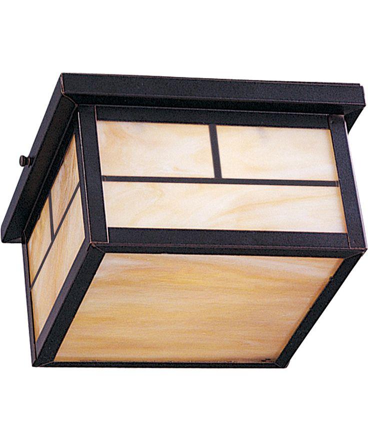 Maxim Lighting 4059 Craftsman 2 Light Outdoor Flush Mount